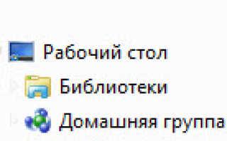 Как удалить домашнюю сеть в Windows 7?
