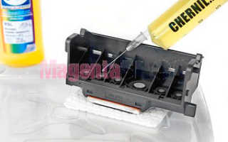 Почему принтер не печатает цветными чернилами hp