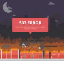 Проблема с сетью 503 в ютубе