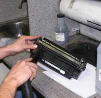 Почему после заправки картриджа принтер плохо печатает