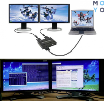 Видеокарта на 4 монитора hdmi
