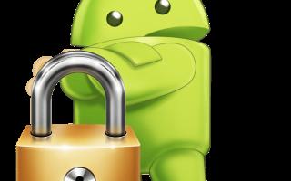 Как установить пароль на андроиде при входе