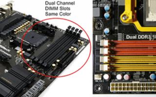 Как сделать двухканальный режим оперативной памяти?
