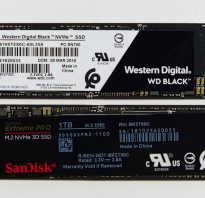 Форм фактор SSD для ноутбука
